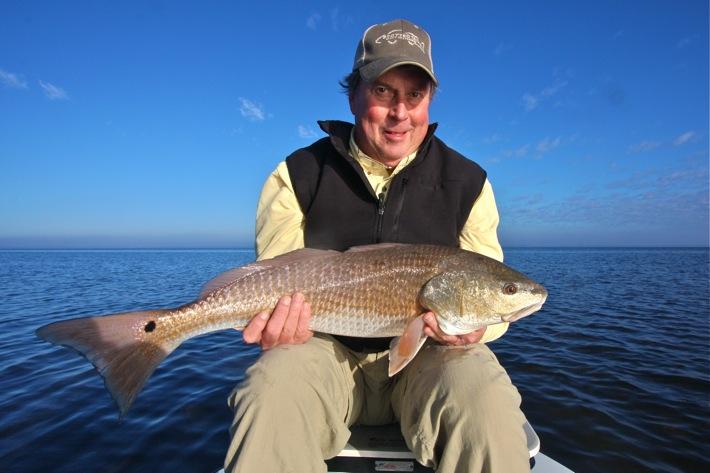 Spotted Tail Outdoors thanksgiving redfish