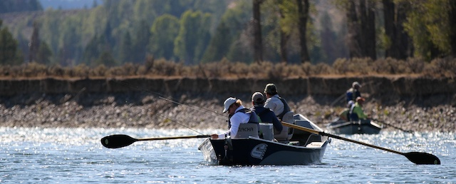 Snake River fly fishing guides