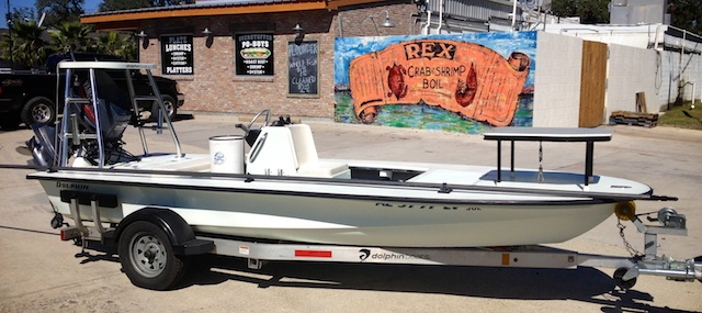 Po-Boys and Flats Boats with Spotted Tail Outdoors