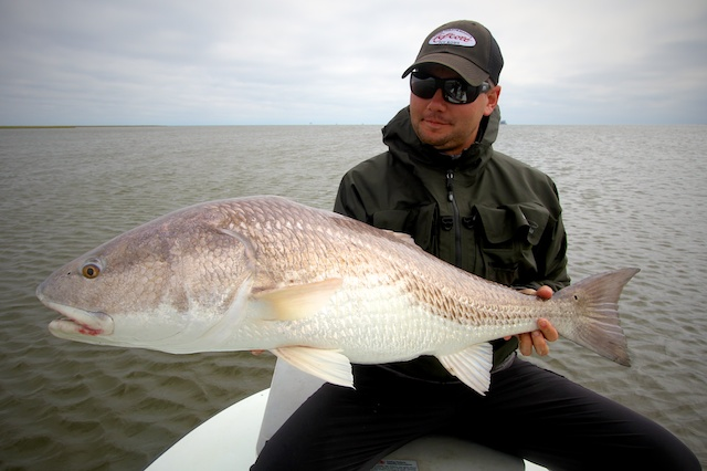 redfish caught with Spotted Tail Outdoors
