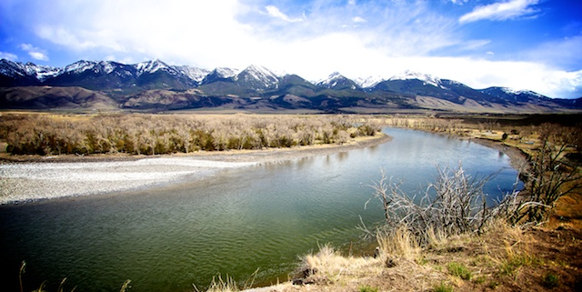 Spotted Tail Outdoors fishing the Yellowstone River in Montana