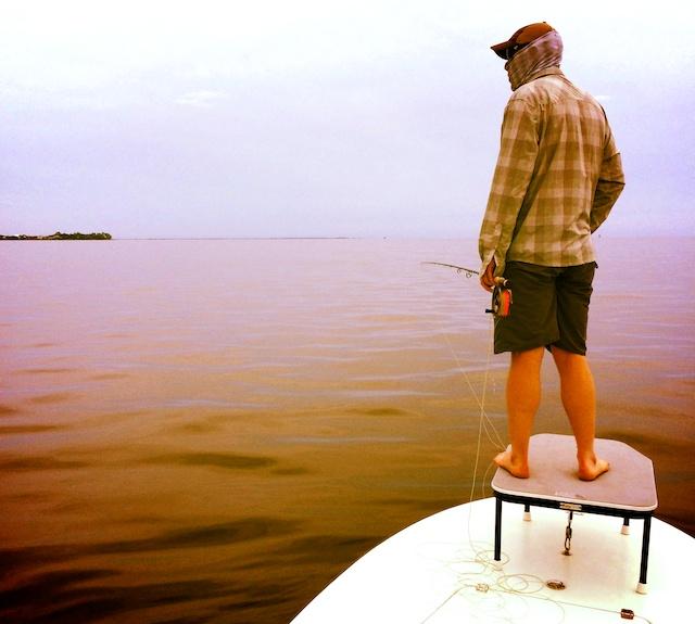 Tim Koski tarpon fishing