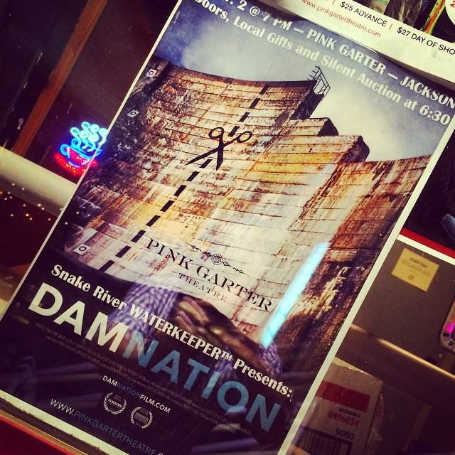 Damnation film event hosted by Snake River Waterkeeper